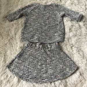 Precious 2T Sweater & Skirt Outfit